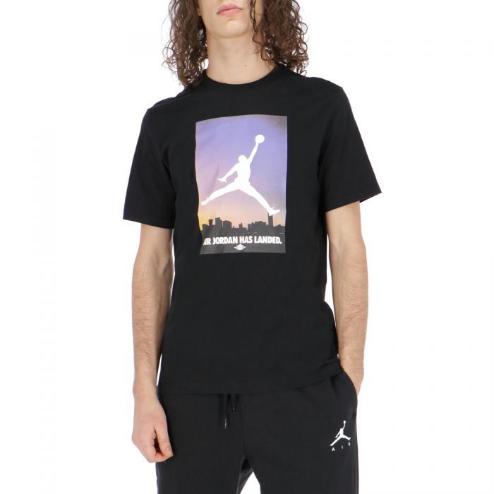 jordan t-shirt e canotte black