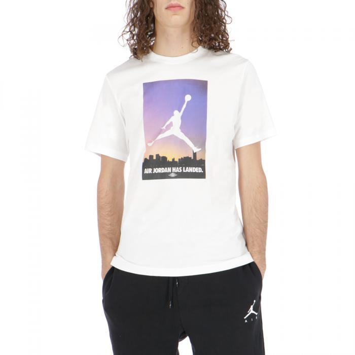jordan t-shirt e canotte white/rosegold