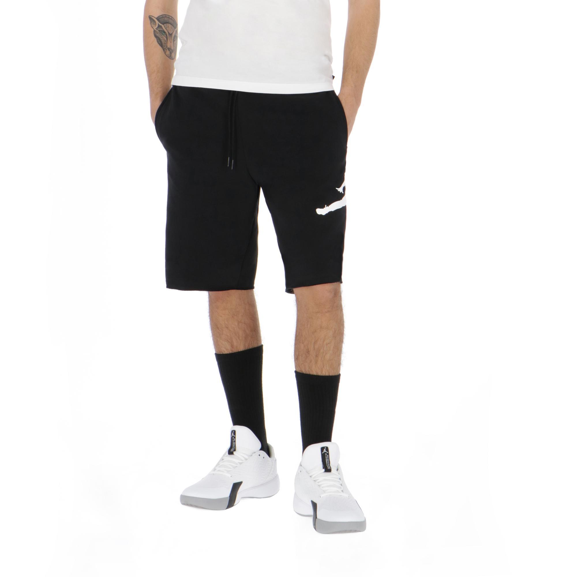 d644531d256a8f Jordan Jumpman Air Fleece Short Black