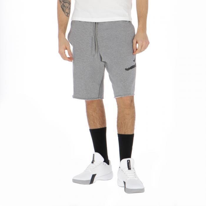 jordan shorts carbon heather black