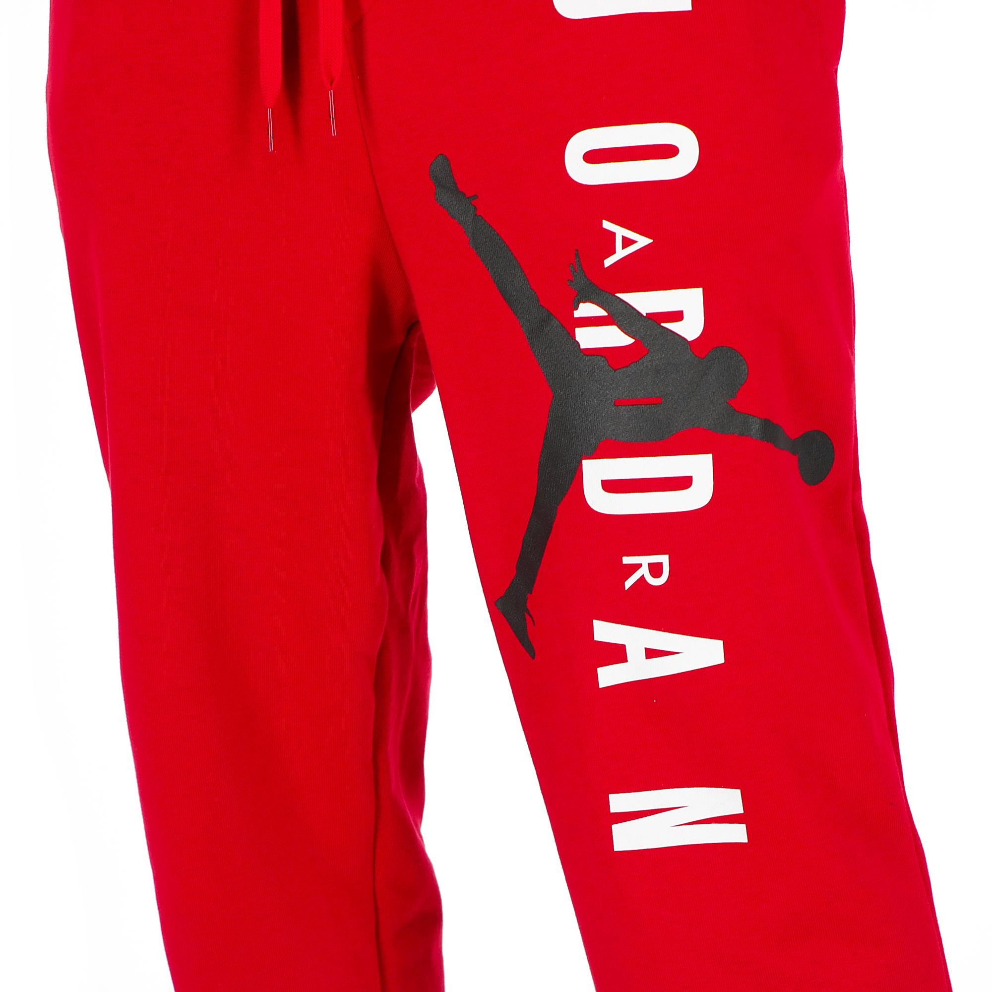 d6b43e25dfd Jordan Jumpman Air Lwt Flc Pant<br/> Black/gym Red | Treesse