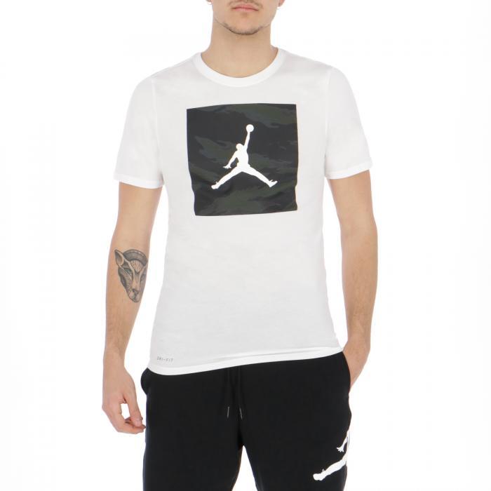 jordan t-shirt e canotte white white