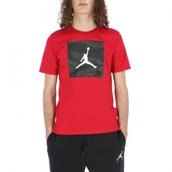 jordan t-shirt e canotte red red