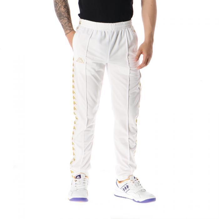 kappa pantaloni white gold