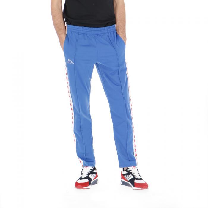 kappa pantaloni blue-white-red