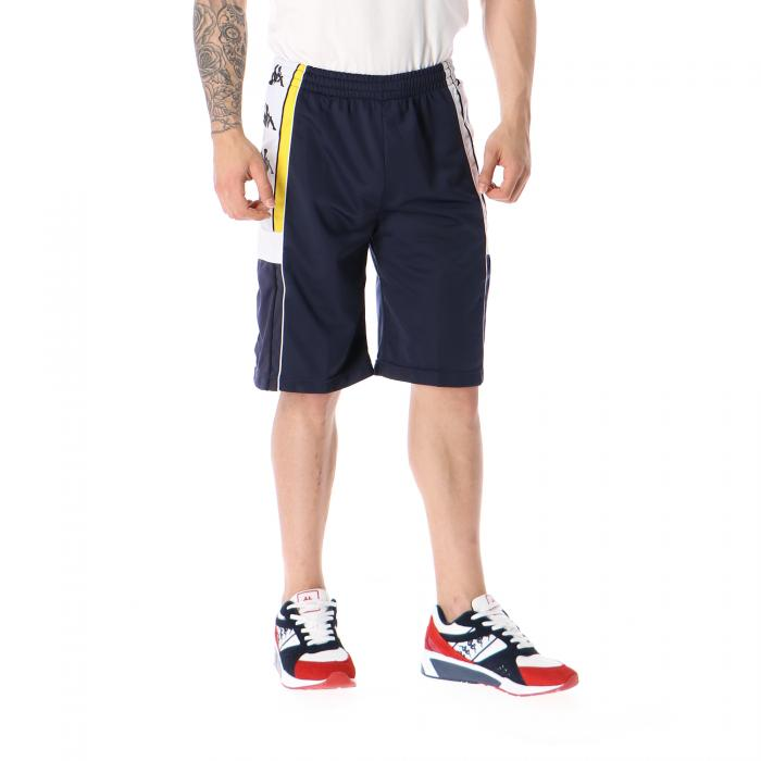 kappa shorts blue yellow white