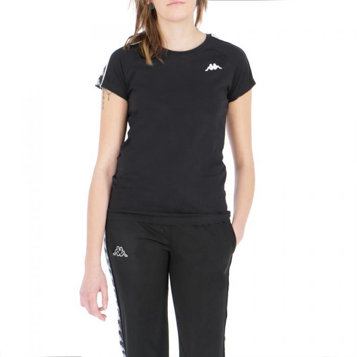 kappa t-shirt e canotte black white