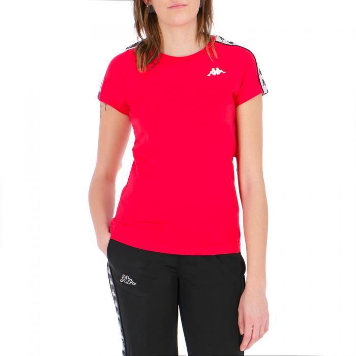 kappa t-shirt e canotte red-black-white
