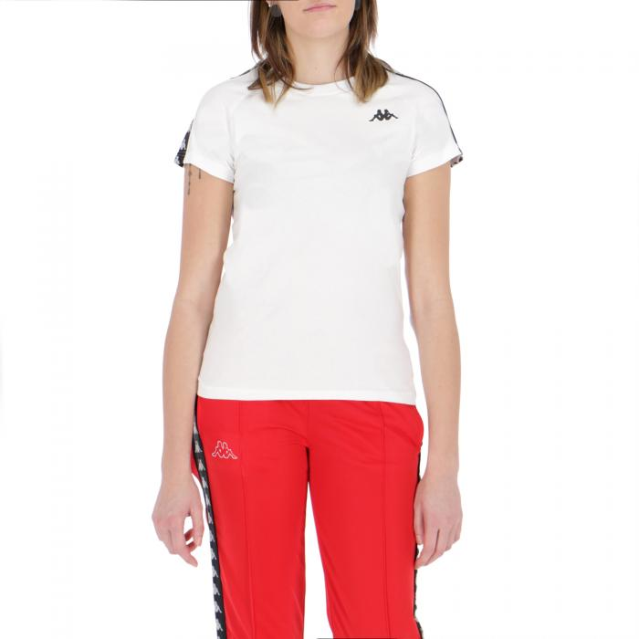 kappa t-shirt e canotte white black