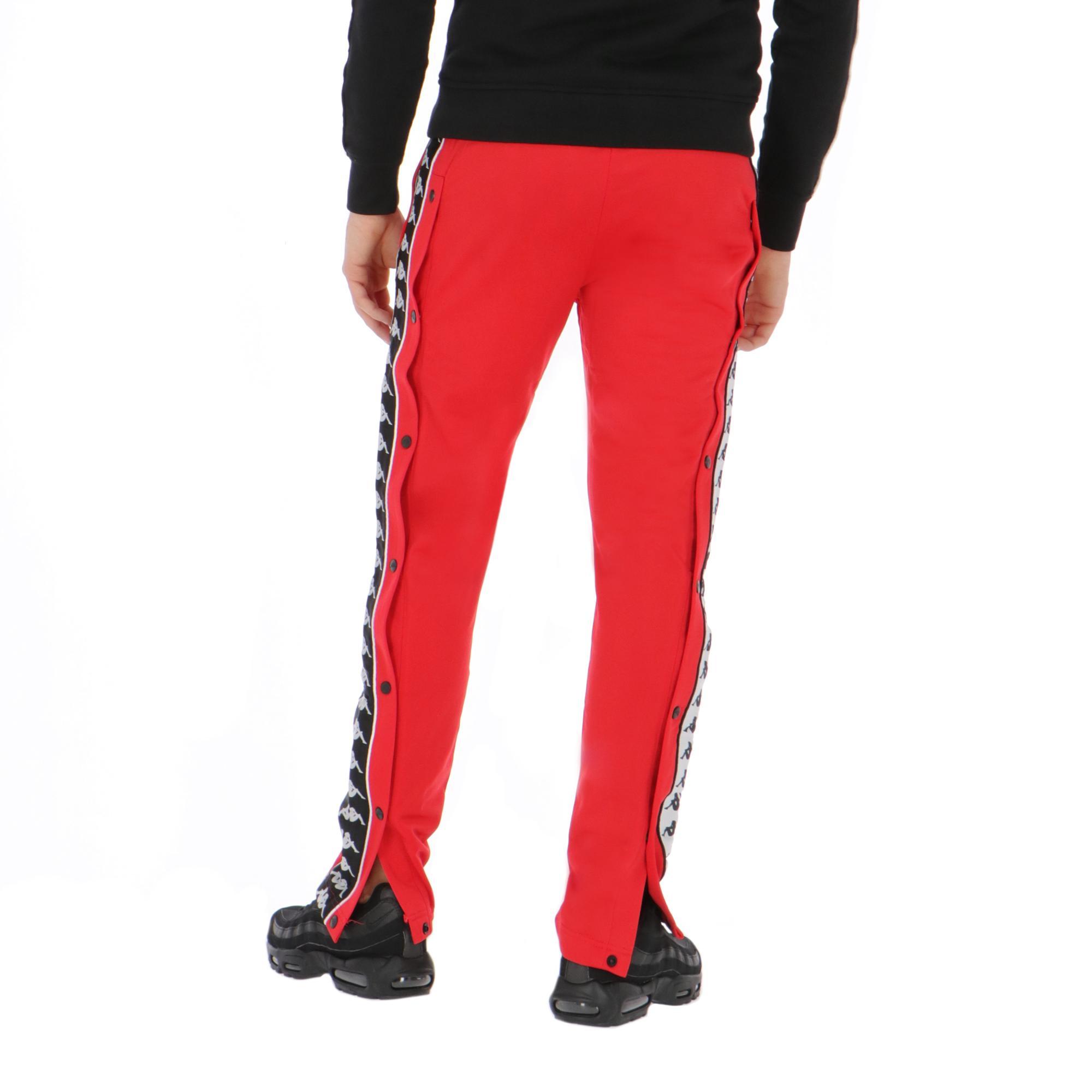 716874b3 Kappa 222 Banda Astoria Snaps Red-black-white | Treesse
