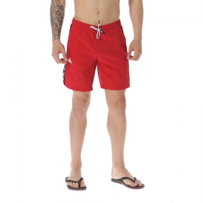 kappa beachwear red-white