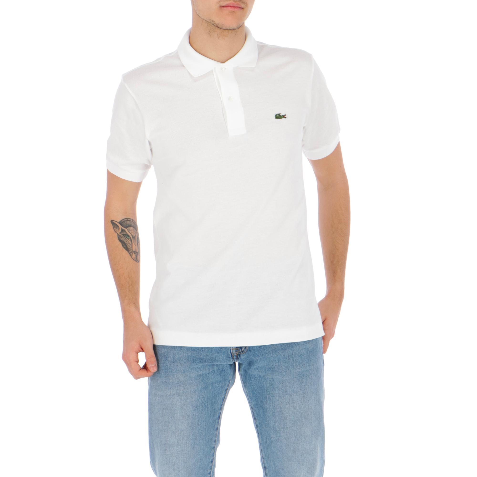 570d243b6f Lacoste Polo White | Treesse