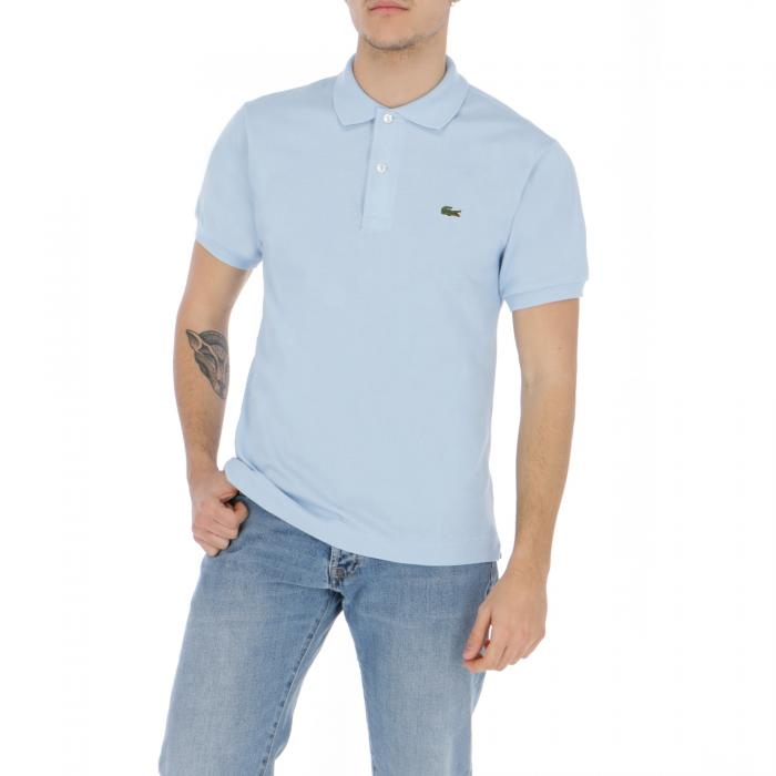 lacoste polo light blue
