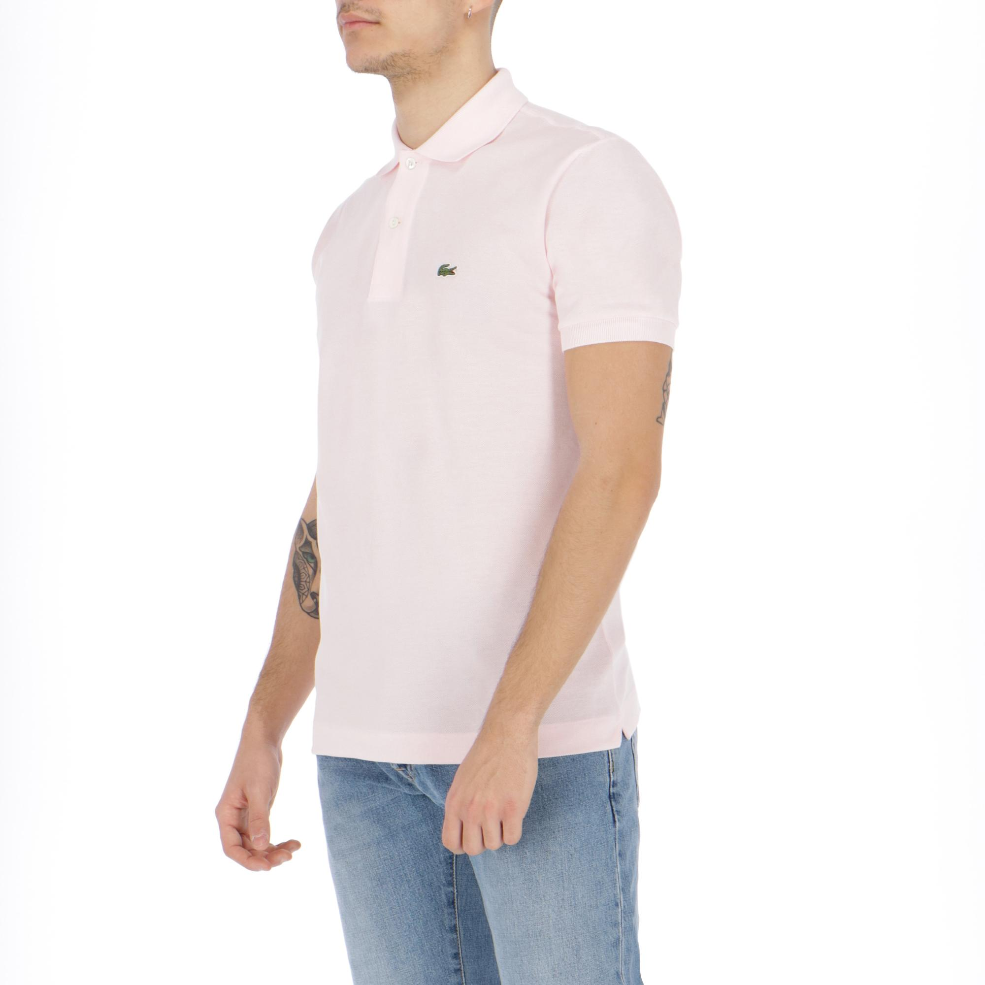 984d2fb1e Lacoste Polo Pink