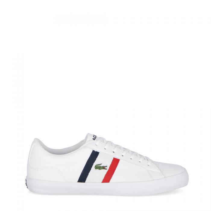 lacoste scarpe lifestyle white red navy