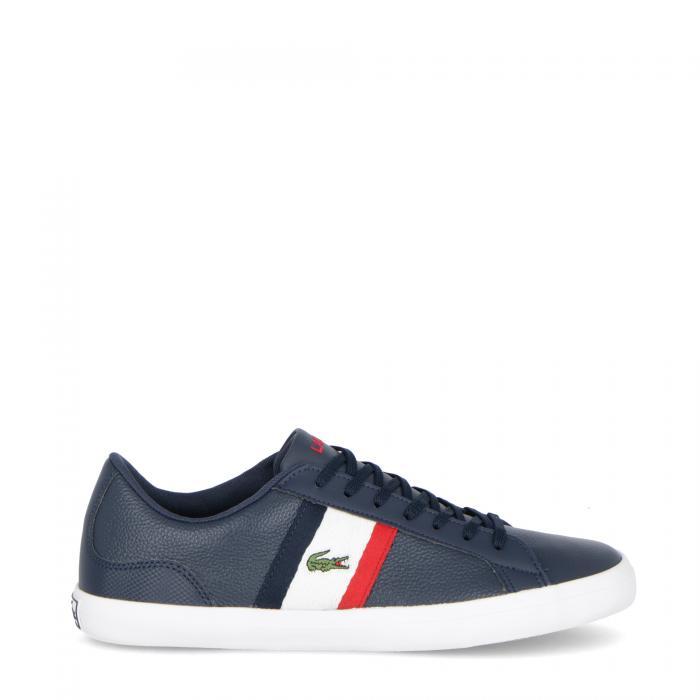 lacoste scarpe lifestyle navy white red