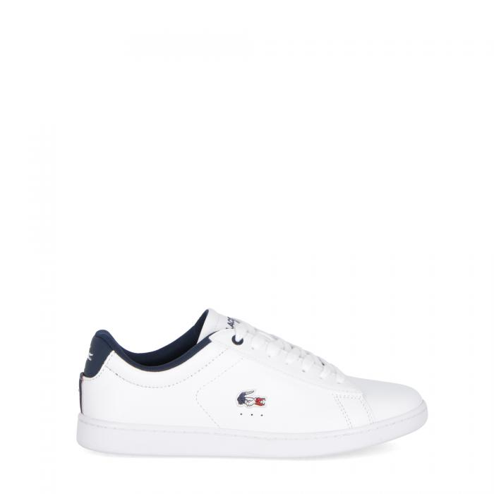 lacoste scarpe lifestyle white navy red