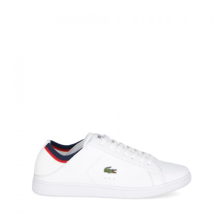 lacoste scarpe lifestyle white navy red