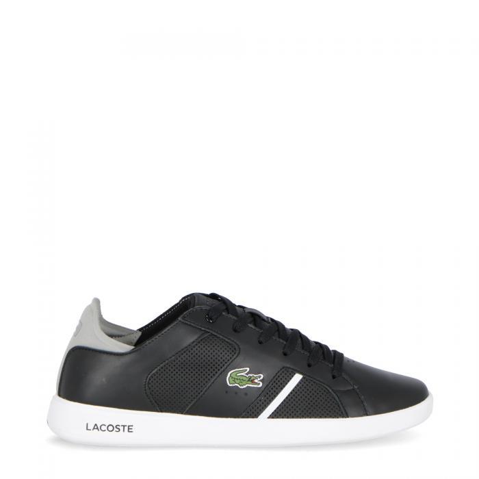lacoste scarpe lifestyle black grey