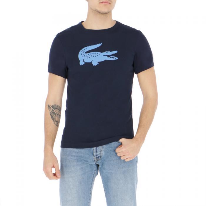 lacoste t-shirt e canotte blu