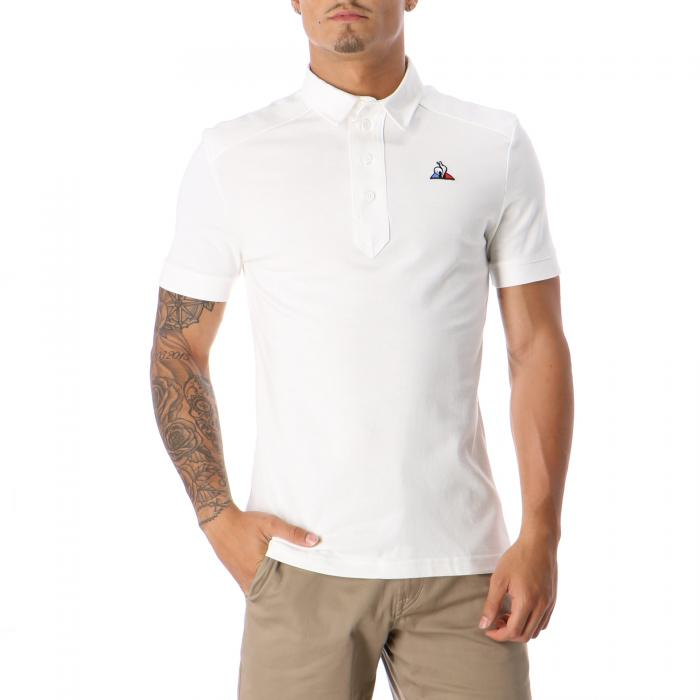 le coq sportif polo new optical white