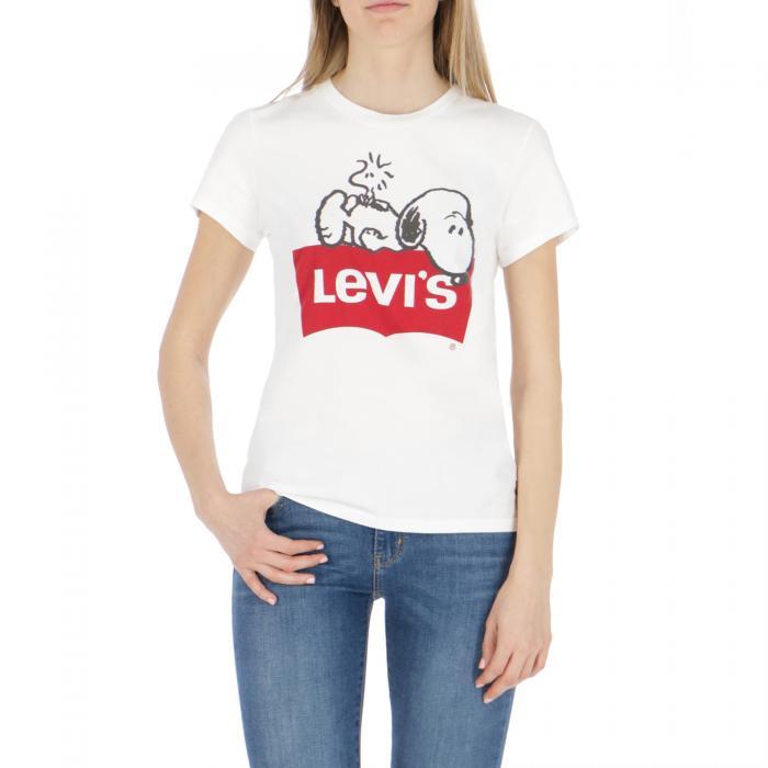 levi's t-shirt e canotte peanuts white 2