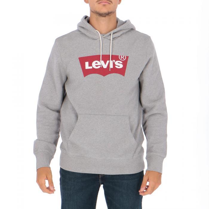 levi's felpe heather grey