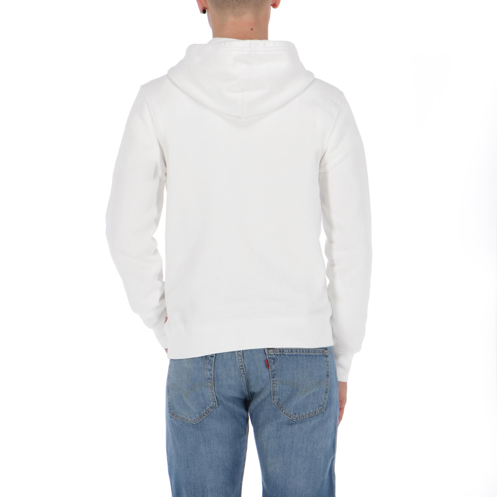 Levi's Graphic Hoodie WHITE