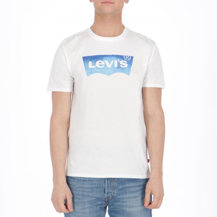 levi's maniche corte white