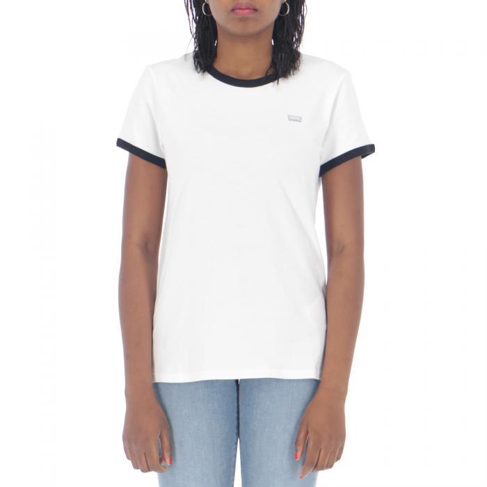 levi's t-shirt e canotte white