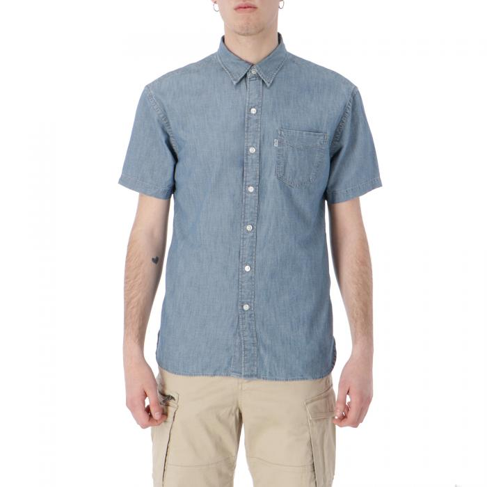 levi's camicie chambray blue