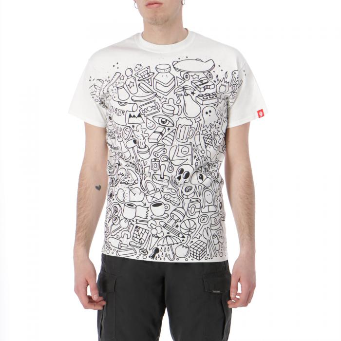 lobster t-shirt e canotte white