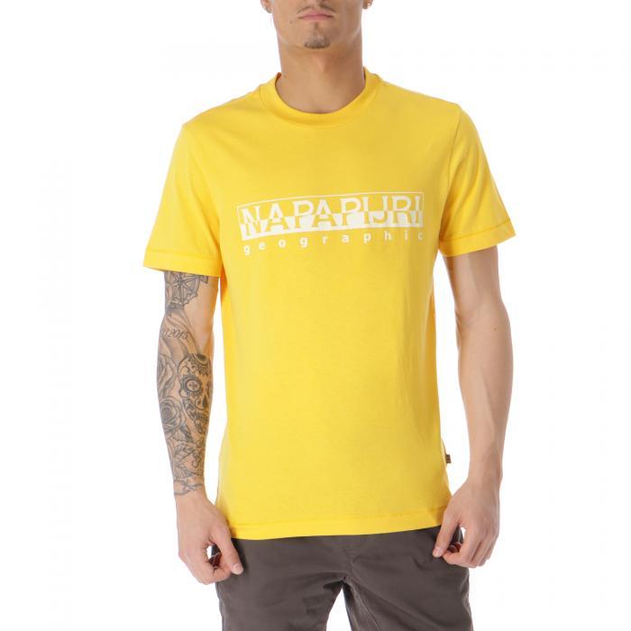 napapijri t-shirt e canotte yellow