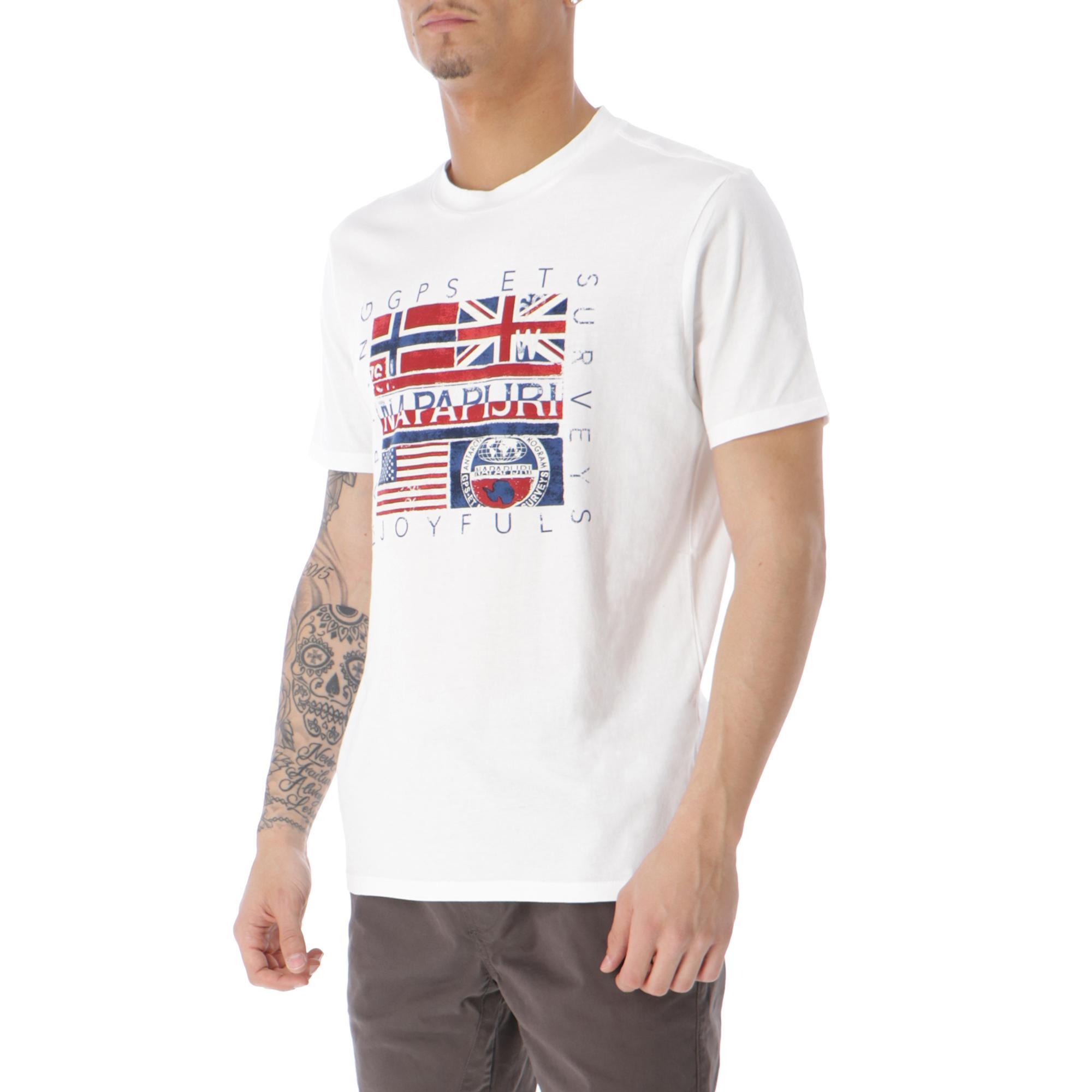 Napapijri Sachu T-shirt Bright white