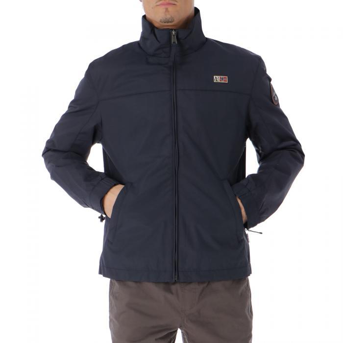 napapijri giacche blu marine