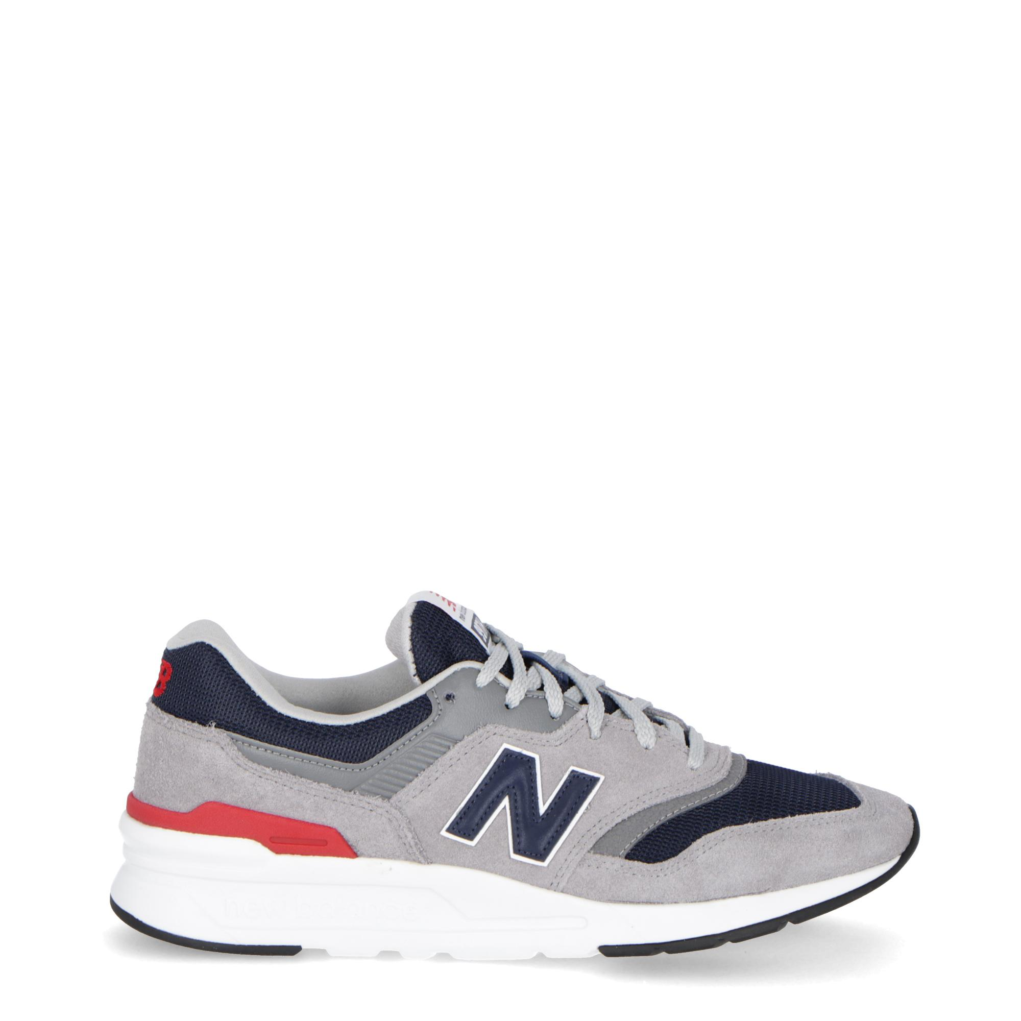 4d5093fb98ad6 New Balance 997 Grey/navy/red | Treesse
