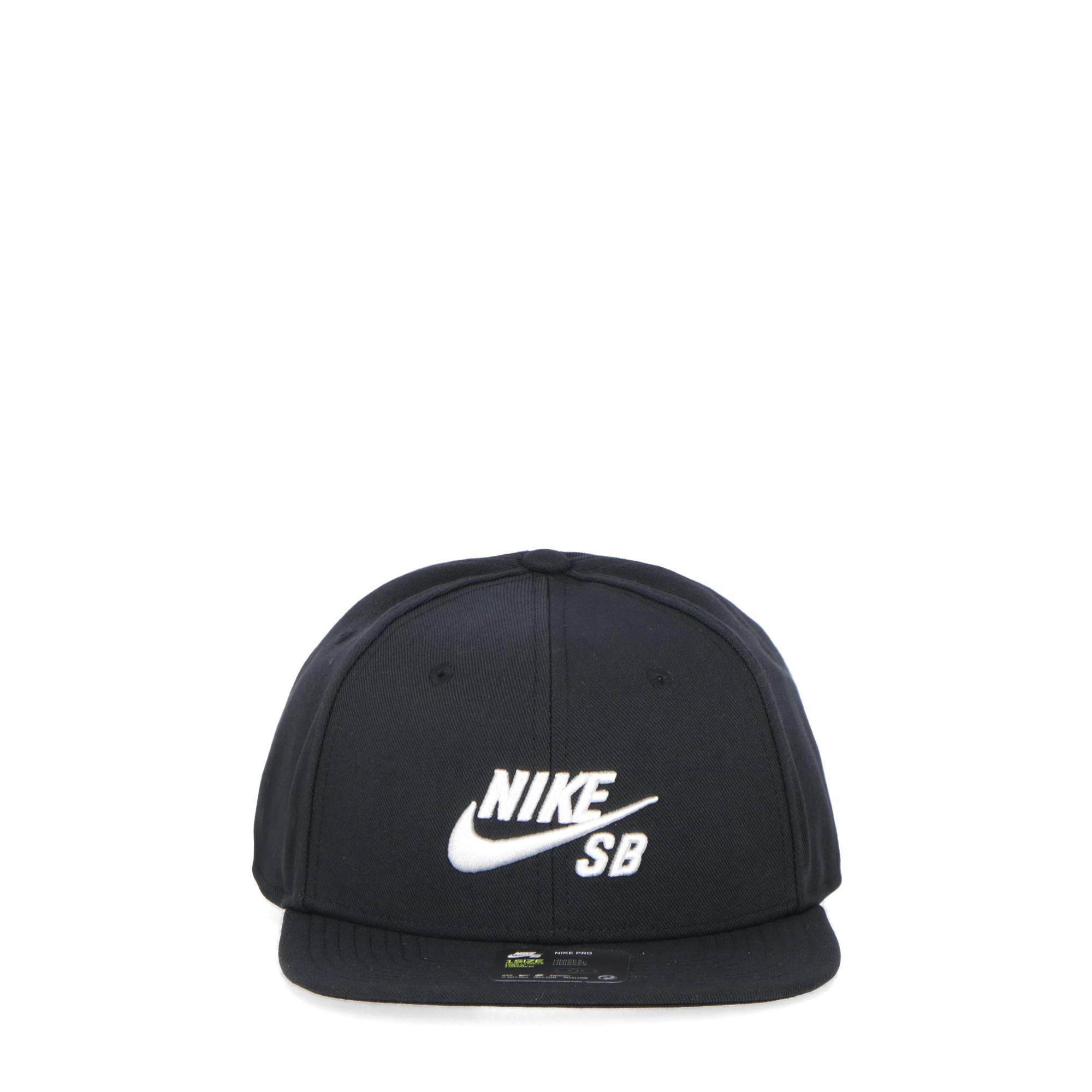 4281aa352d3 Nike Sb U Pro Cap Black white