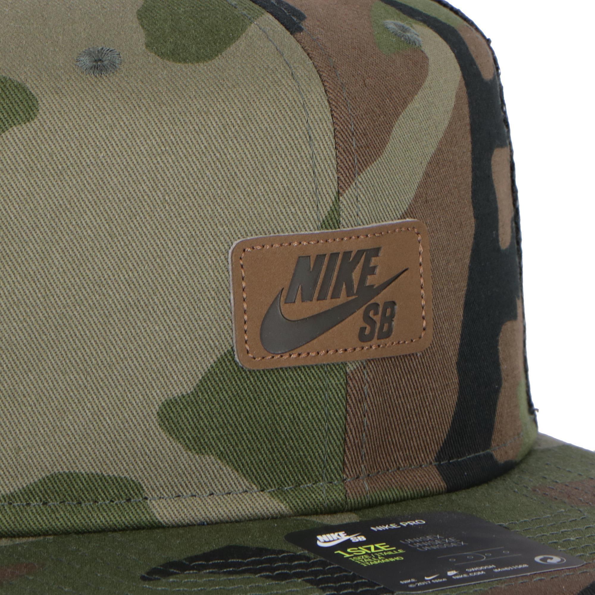 separation shoes afe33 bdbd9 Nike Sb U Pro Cap Trucker MEDIUM OLIVE