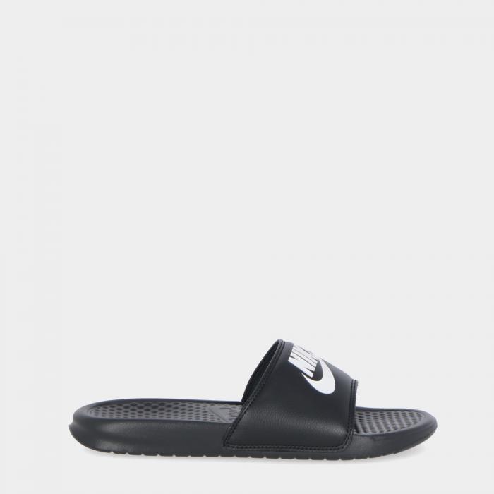 nike sandali e ciabatte black/white