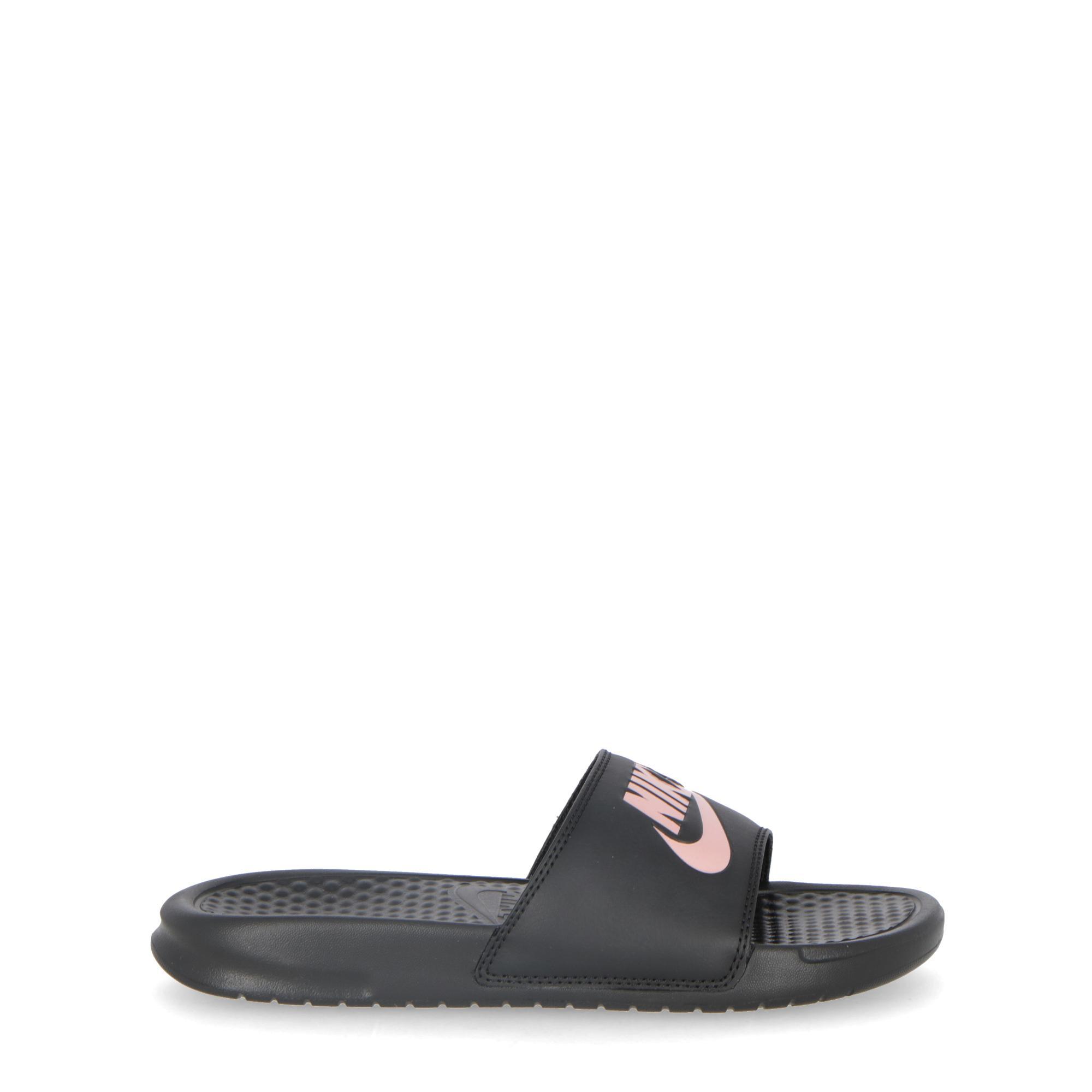 Nike W Benassi Jdi Black rosgld  03993e555377