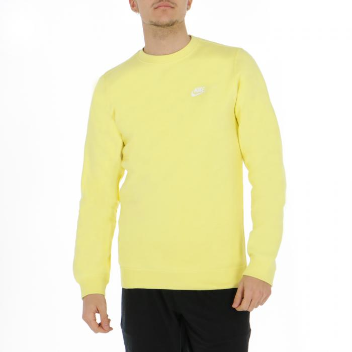 nike felpe yellow pulse