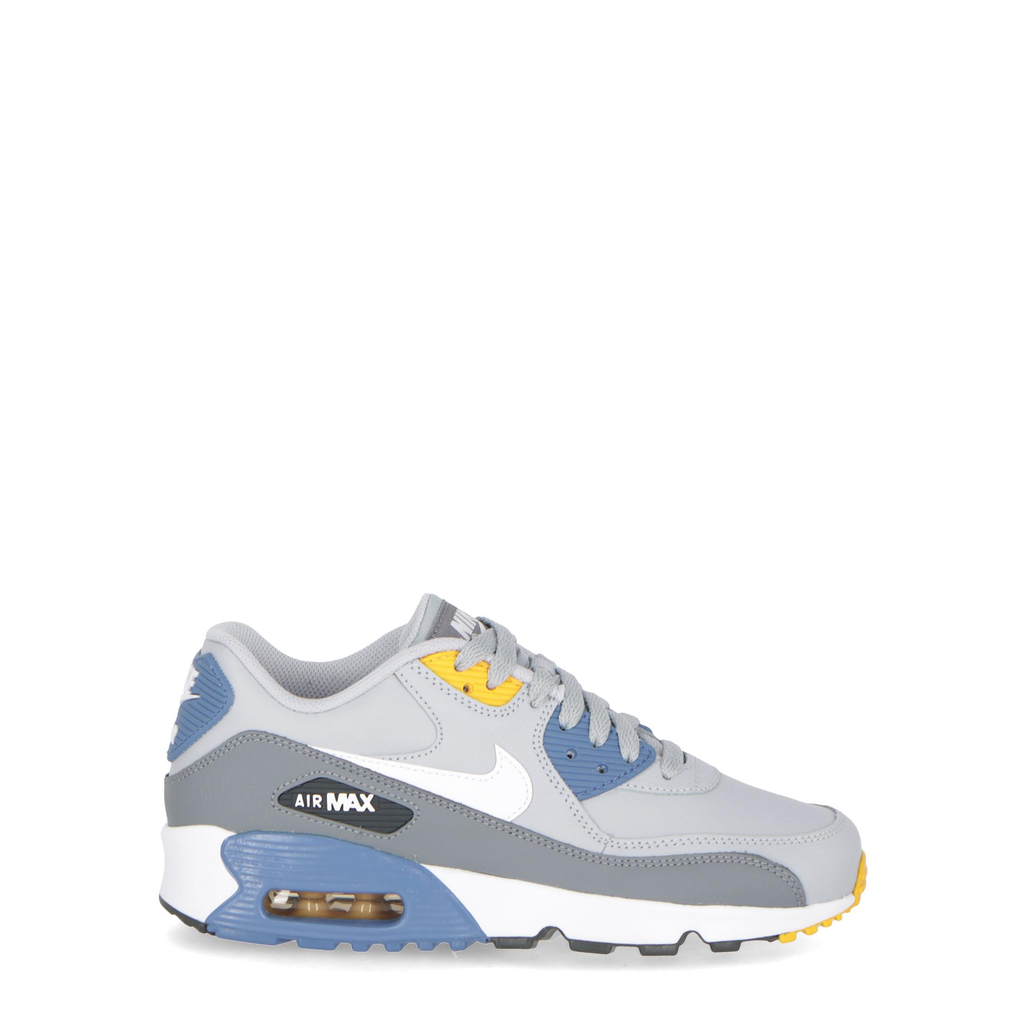 new arrival 4ddaf 99898 Nike Air Max 90 Ltr (gs) - Kids Wolf grey indigo
