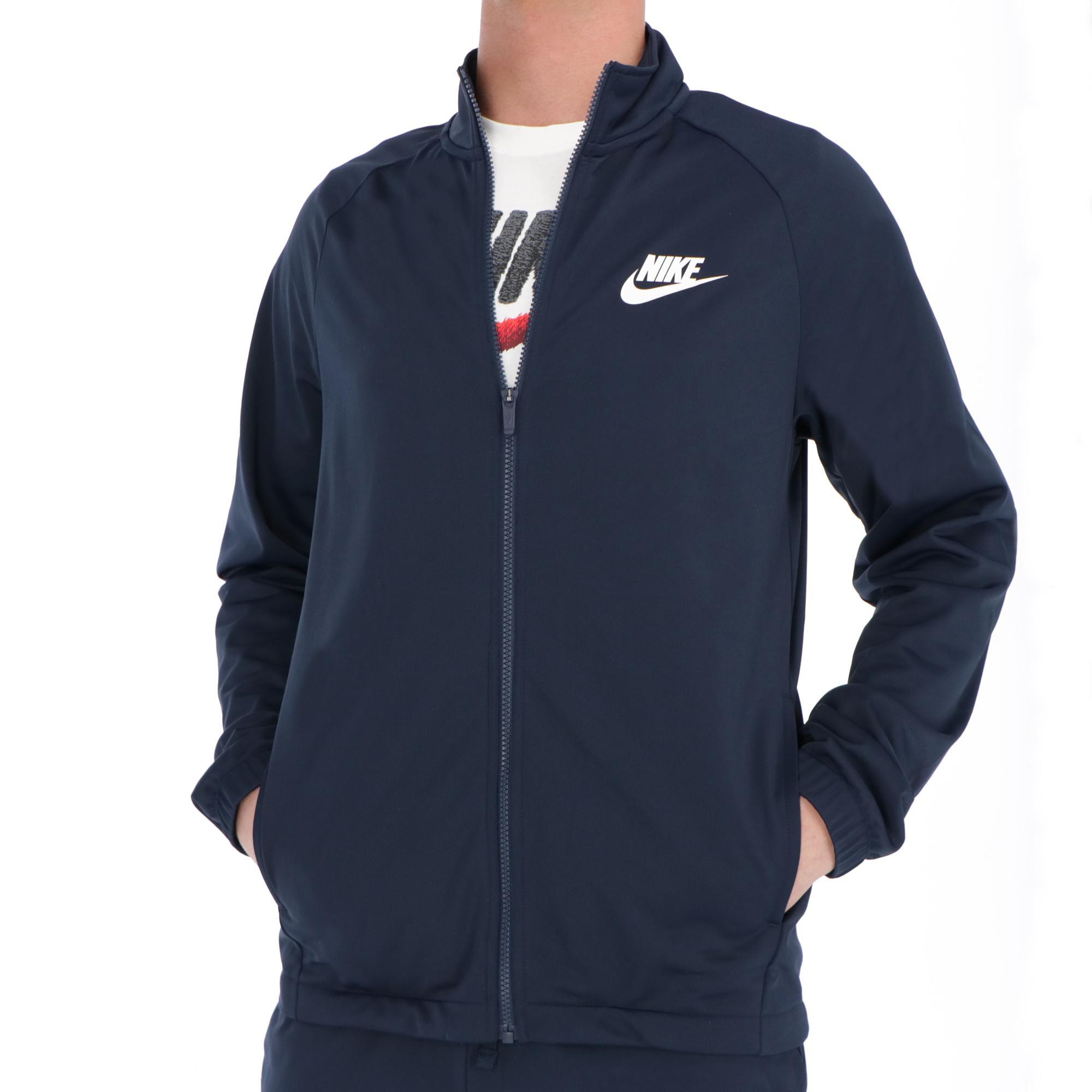 Nike Nsw Ce Trk Suit Pk Basic Obsidian white