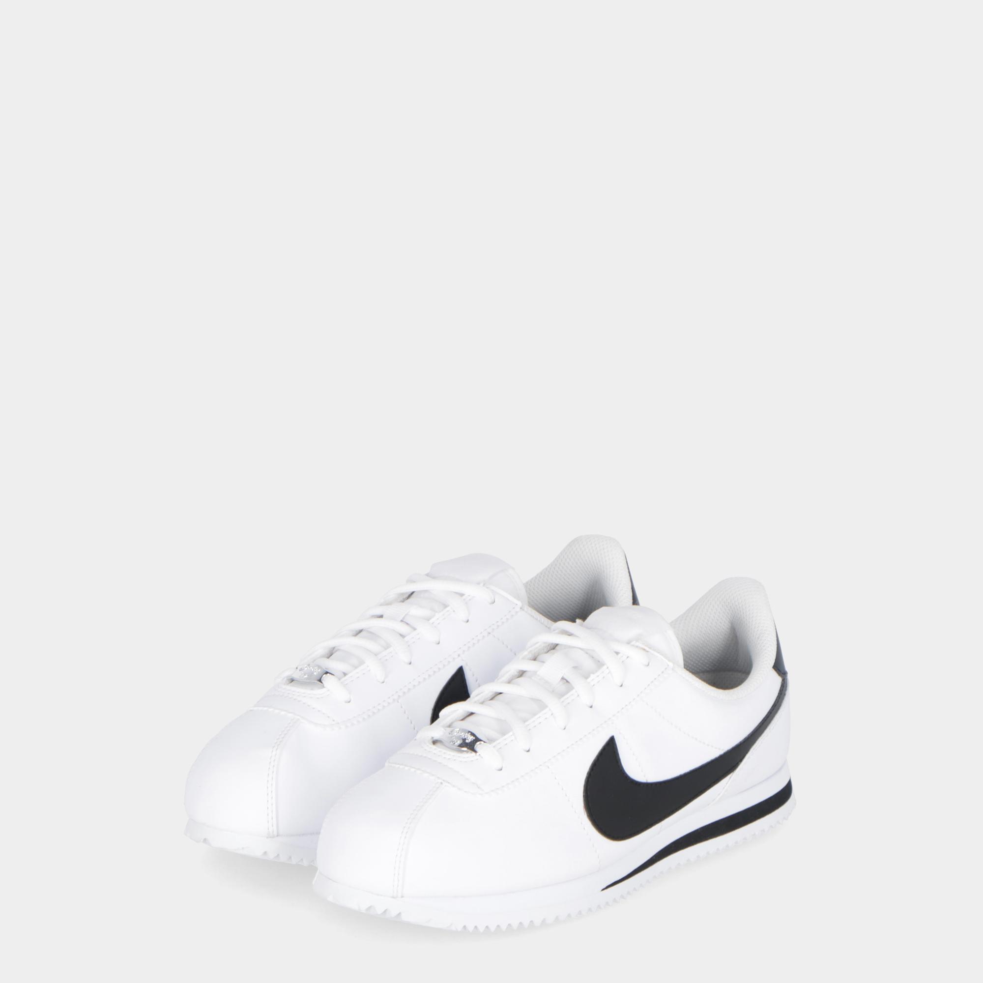 97f197fd34b Nike Cortez Basic Sl (gs) - Kids White Black