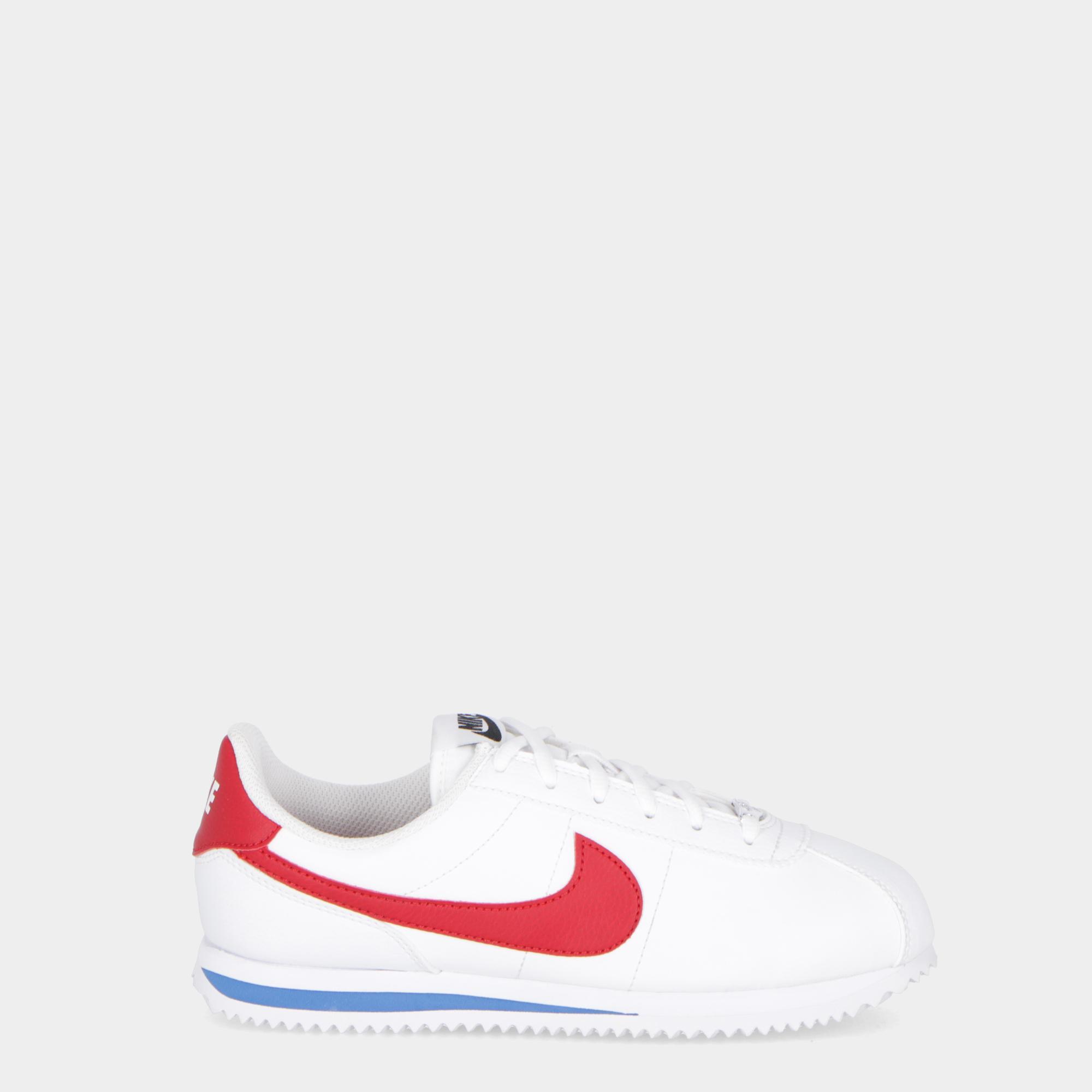 the best attitude f0e20 02620 Nike Cortez Basic Sl (gs) - Kids White red royal