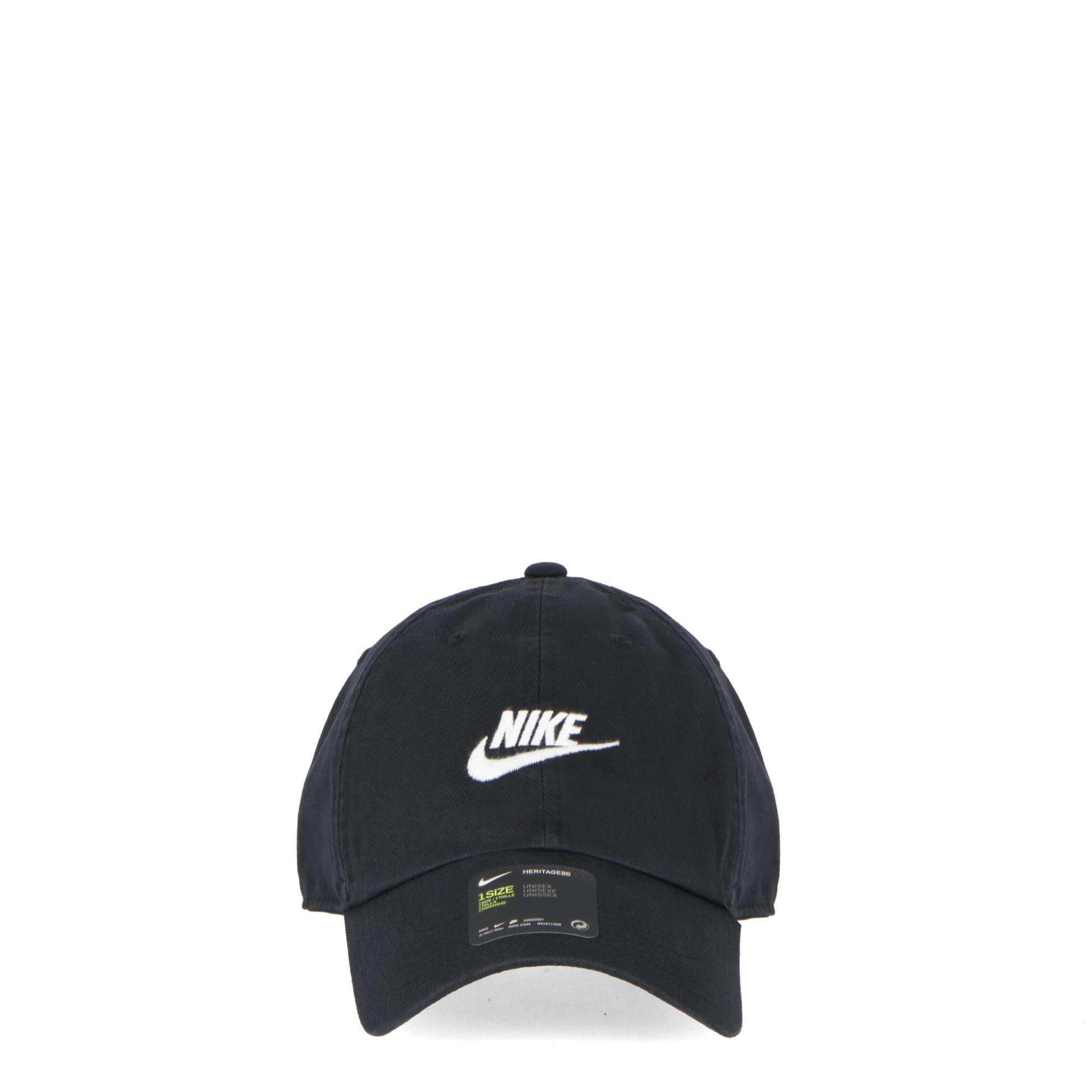 ce48d730aae Nike H86 Cap Futura Washed Black White