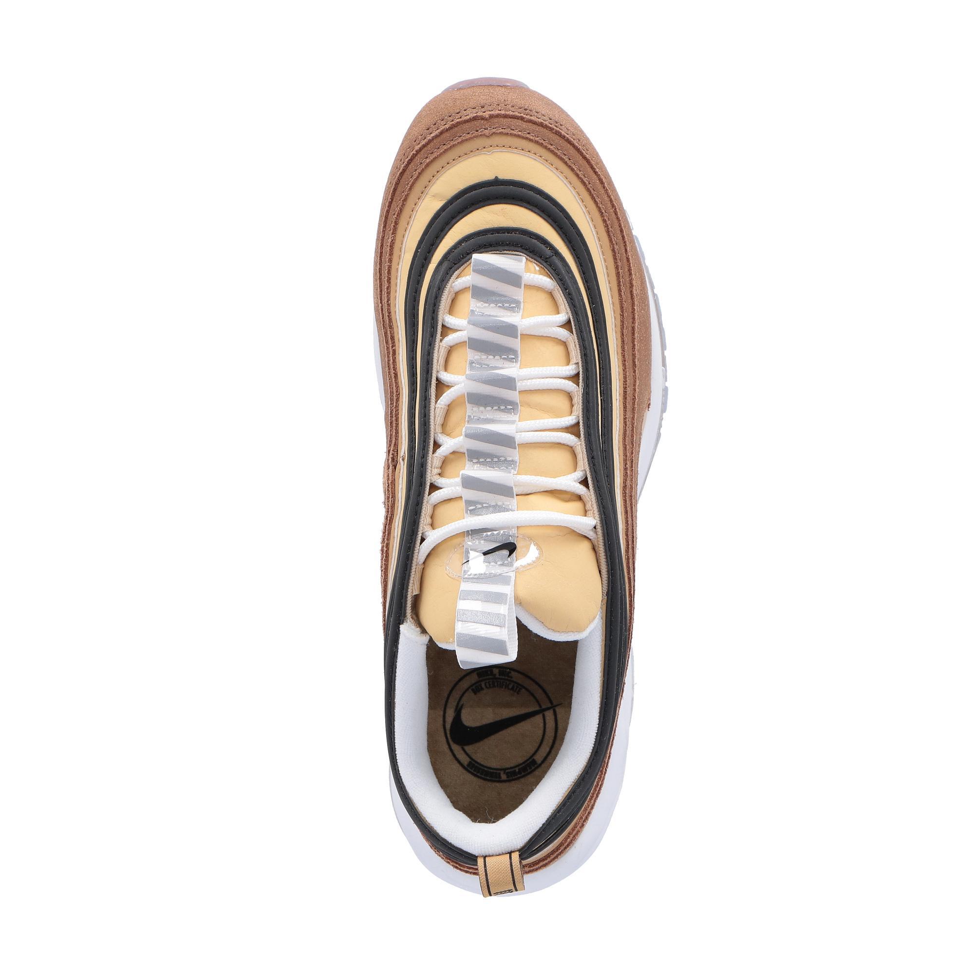 Nike Air Max 97 Brown black gold
