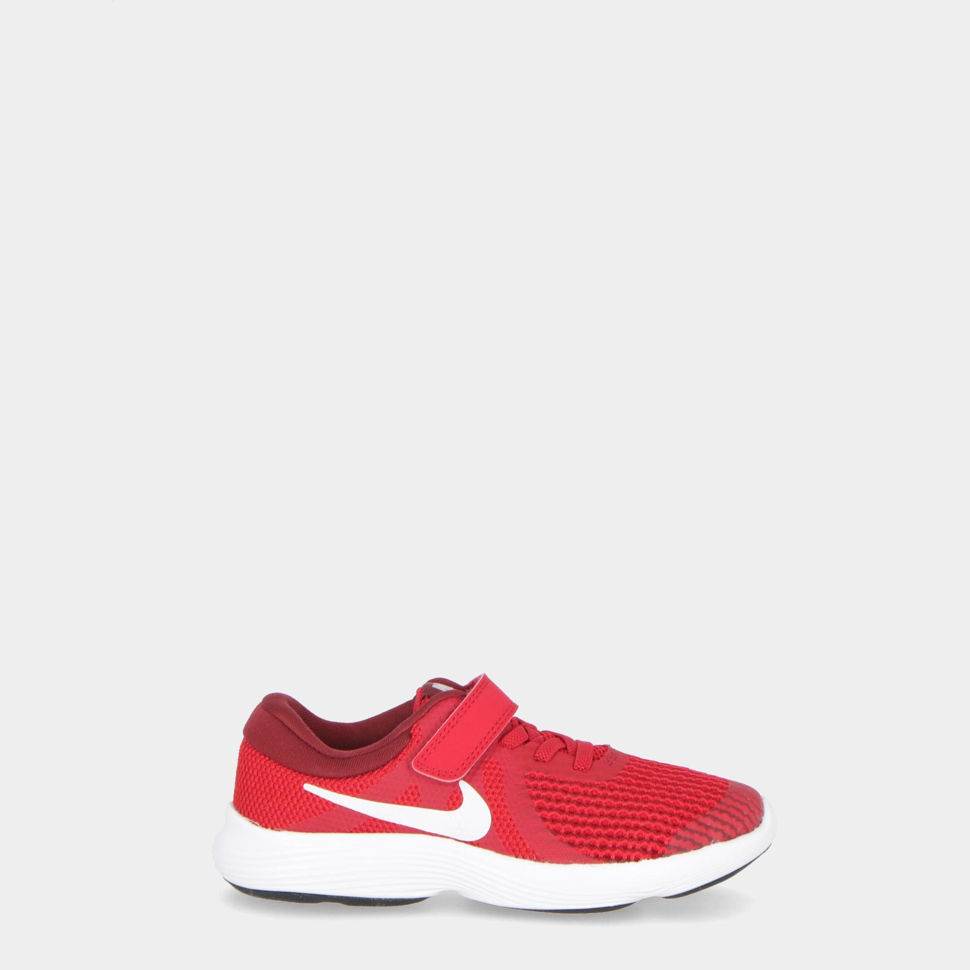 buy popular 0b8c2 b81b0 Nike Revolution 4 (psv) GYMRED WHITE