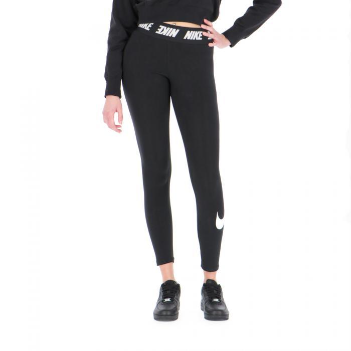 nike pantaloni black/white