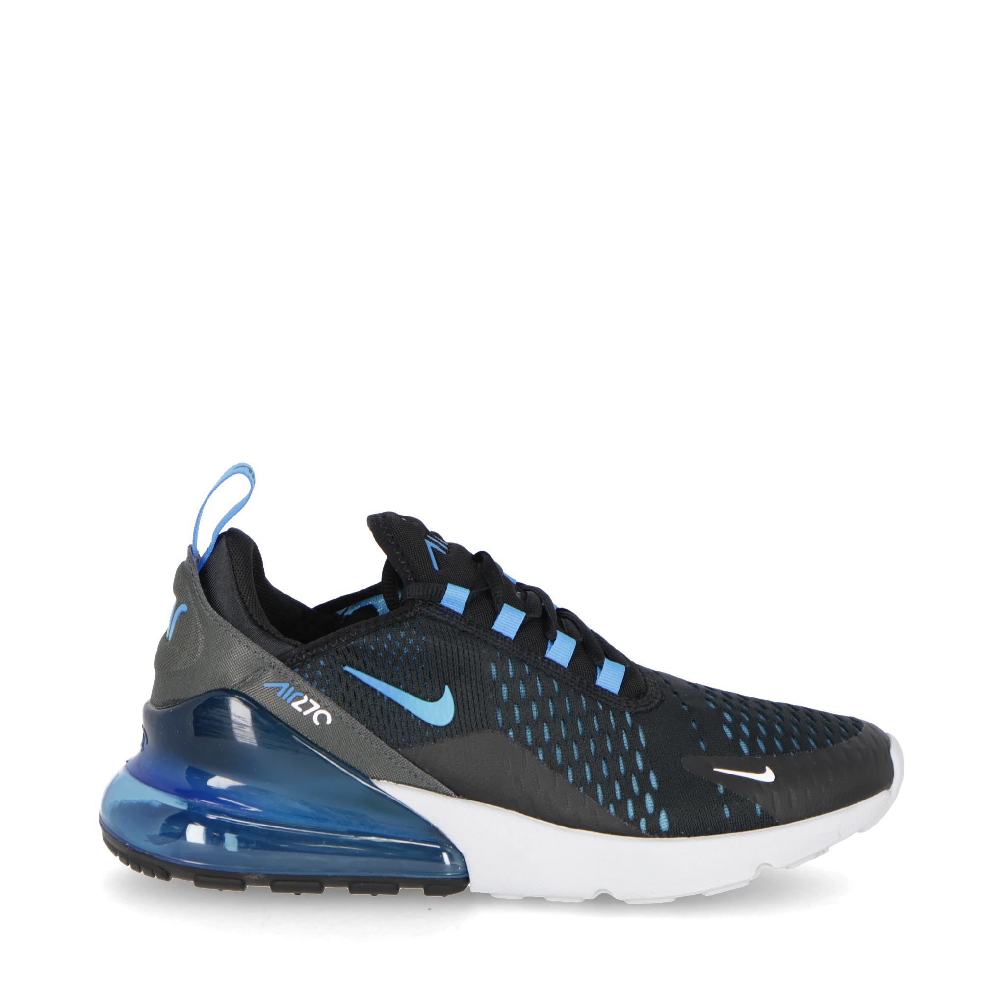 783773feb Nike Air Max 270 Black Black Blue | Treesse